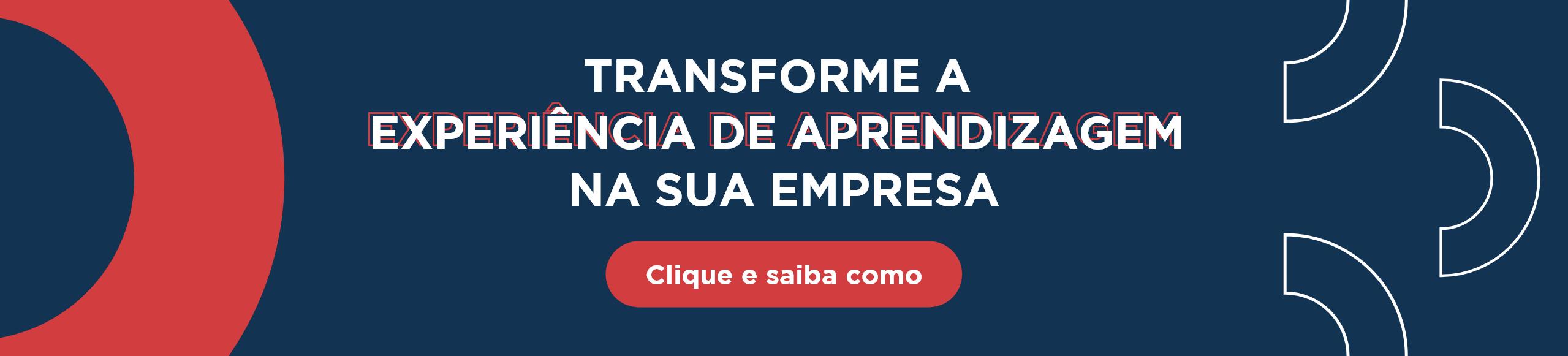 banner convite para a solução de educação corporativa